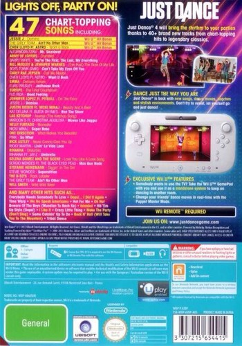 Just Dance 4 WiiU backM (AJDP41)