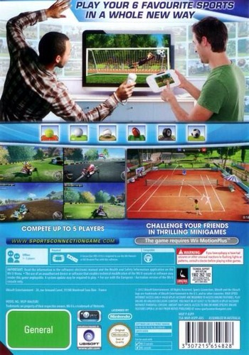 Sports Connection WiiU backM (ASPP41)