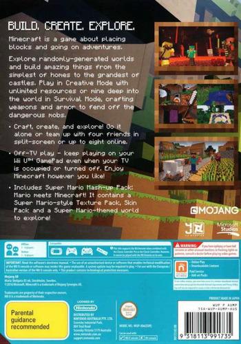 Minecraft: Wii U Edition WiiU backM (AUMPDU)