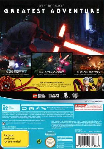 LEGO Star Wars: The Force Awakens WiiU backM (BLGPWR)