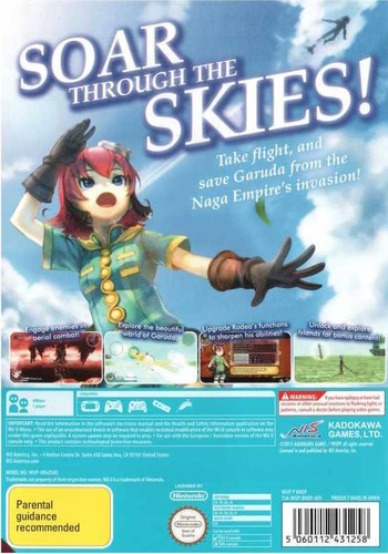 Rodea the Sky Soldier WiiU backM (BRDPNS)