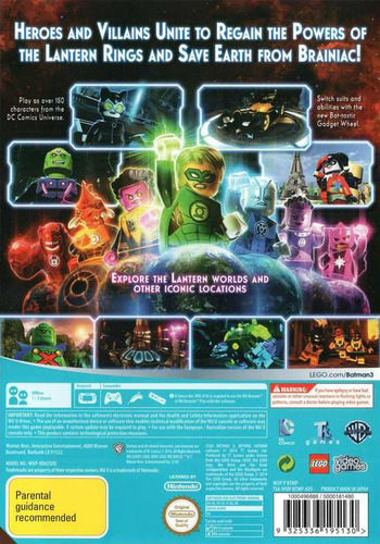 LEGO Batman 3: Beyond Gotham WiiU backM (BTMPWR)