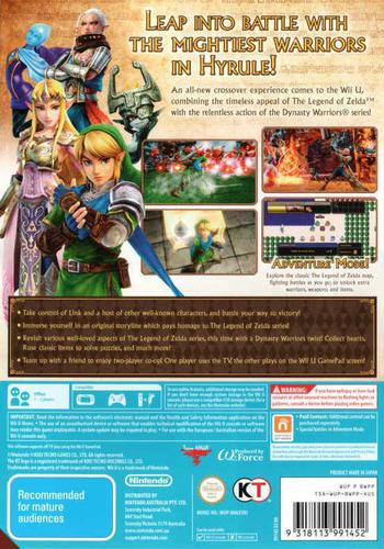 Hyrule Warriors WiiU backM (BWPP01)