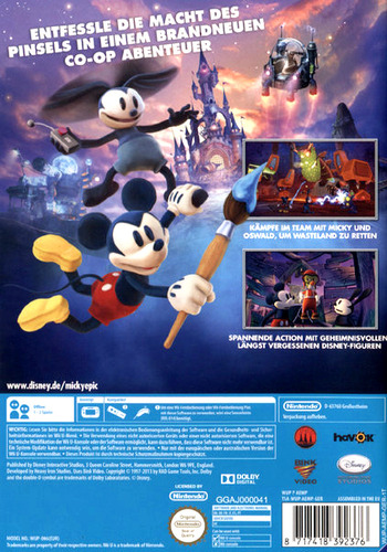 Disney Micky Epic: Die macht der 2 Array backM (AEMP4Q)