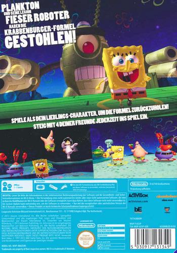 Spongebob Schwammkopf: Planktons Fiese Robo-Rache Array backM (AS5P52)