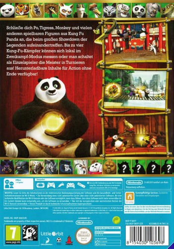 Kung Fu Panda: Showdown der Legenden WiiU backM (BKFPVZ)