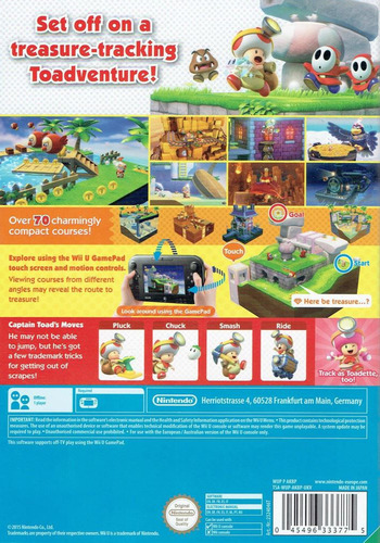 Captain Toad: Treasure Tracker WiiU backM (AKBP01)