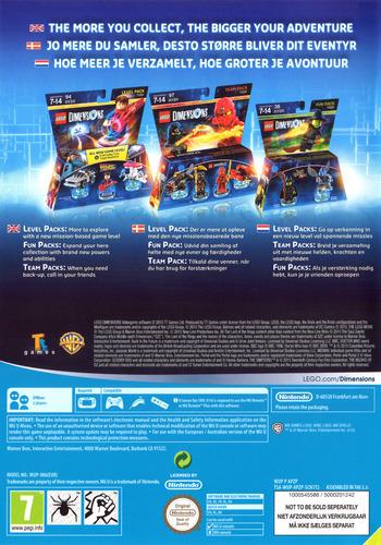 LEGO Dimensions WiiU backM (APZPWR)