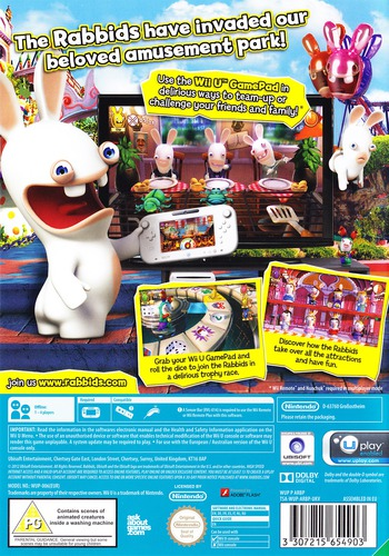 Rabbids Land WiiU backM (ARBP41)