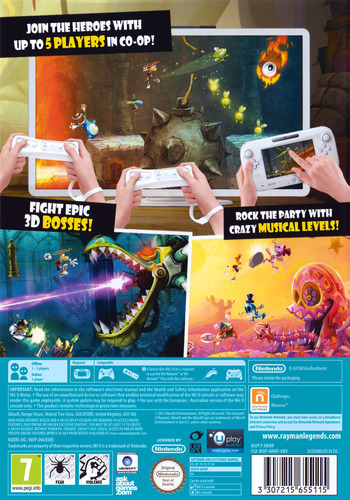Rayman Legends WiiU backM (ARMP41)