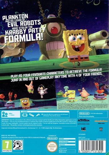 SpongeBob SquarePants: Plankton's Robotic Revenge Array backM (AS5P52)