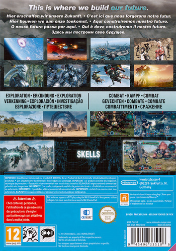 Xenoblade Chronicles X WiiU backM (AX5D01)