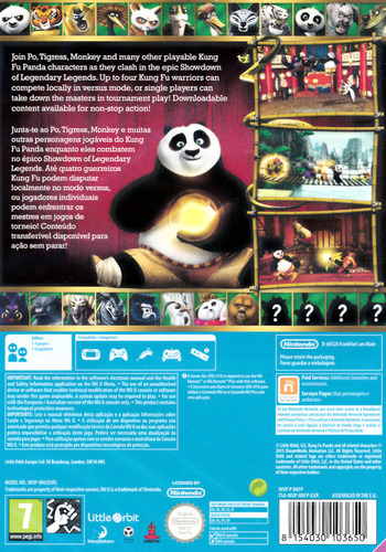 Kung Fu Panda: Showdown of Legendary Legends WiiU backM (BKFPVZ)