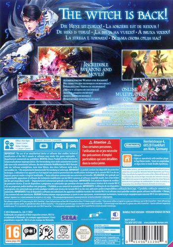 Bayonetta 2 WiiU backM (BPCP01)