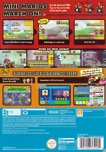 Mario vs. Donkey Kong: Tipping Stars (Download Code) WiiU backM (WAFP01)