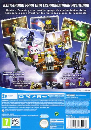 La LEGO Película: El Videojuego WiiU backM (ALAPWR)