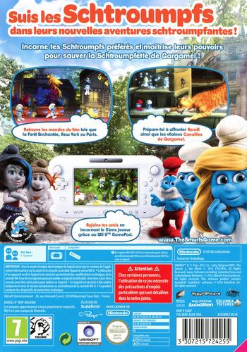 Les schtroumpfs 2 WiiU backM (ASUP41)