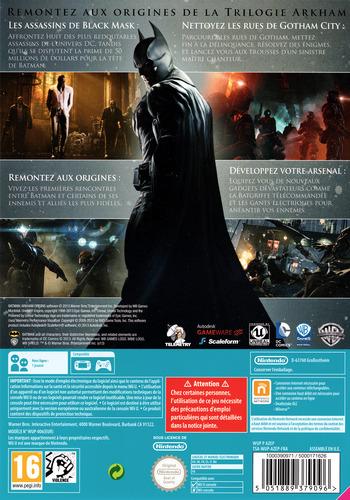 Batman:Arkham Origins WiiU backM (AZEPWR)