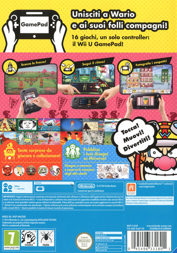 Game & Wario WiiU backM (ASAP01)