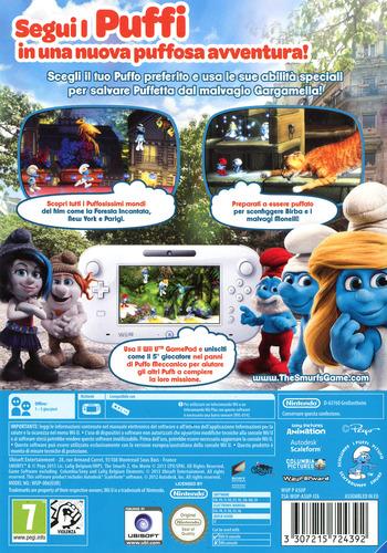 I Puffi 2 WiiU backM (ASUP41)