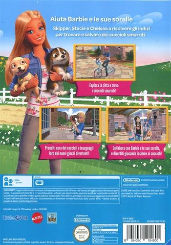 Barbie e le sue sorelle: Salvataggio Cuccioli WiiU backM (BRQPVZ)