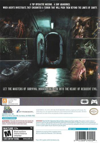 Resident Evil: Revelations WiiU backM (ABHE08)