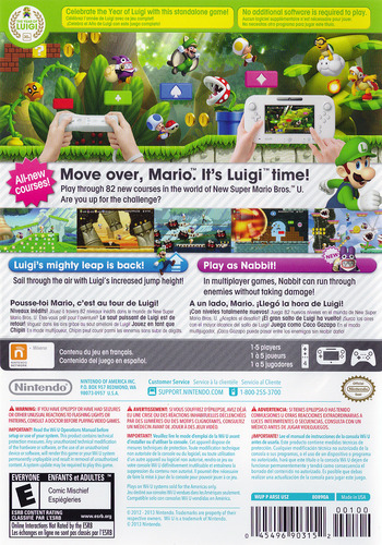 New Super Luigi U WiiU backM (ARSE01)