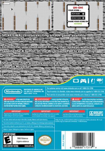 Spikey Walls WiiU backM (BWLE)