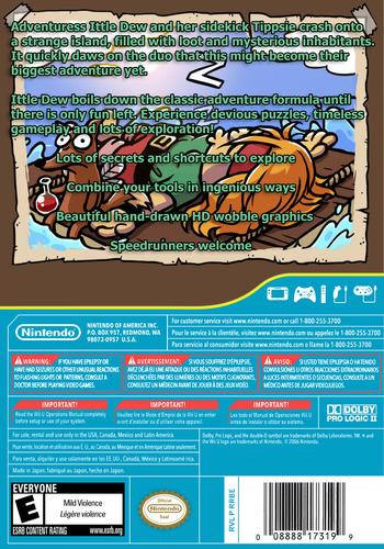 Ittle Dew WiiU backM (WDWE)