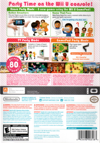 Wii Party U WiiU backM2 (ANXE01)