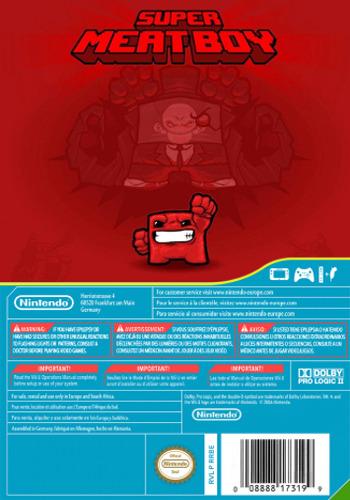 Super Meat Boy WiiU backMB (AENP)