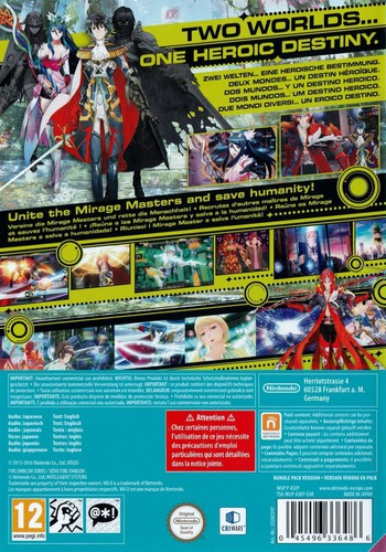 Tokyo Mirage Sessions #FE WiiU backMB (ASEP01)