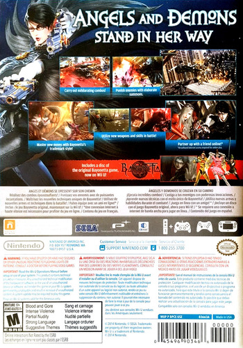 Bayonetta 2 WiiU backMB (BPCE01)