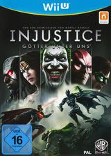 Injustice: Götter Unter Uns WiiU cover (AJSPWR)