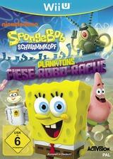 Spongebob Schwammkopf: Planktons Fiese Robo-Rache WiiU cover (AS5P52)