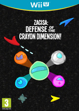 ZaciSa: Defense of the Crayon Dimensions! eShop cover (WLSP)