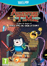 Adventure Time:explore le donjon et POSE PAS DE QUESTION ! pochette WiiU (ADVPAF)
