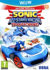 Sonic & All-Stars Racing Transformed pochette WiiU (AS2P8P)