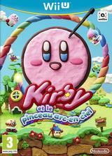 Kirby Et Le Pinceau Arc-en-ciel pochette WiiU (AXYP01)