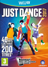 Just Dance 2017 pochette WiiU (BJ7P41)