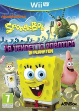 SpongeBob SquarePants: Plankton's Robotic Revenge WiiU cover (AS5P52)