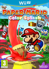 Paper Mario: Color Splash WiiU cover (CNFP01)