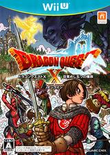 ドラゴンクエストX 目覚めし五つの種族 オンライン WiiU cover (ADQJGD)