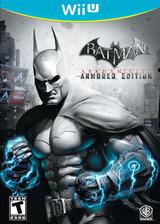 Batman Arkham City: Armored Edition WiiU cover (ABTEWR)