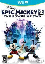 Disney Epic Mickey 2: The Power of Two WiiU cover (AEME4Q)