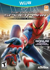 The Amazing Spider-Man Ultimate Edition WiiU cover (AMZE52)