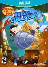 Phineas and Ferb: Quest for Cool Stuff WiiU cover (APFE5G)