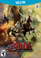 The Legend of Zelda: Twilight Princess HD WiiU cover (AZAE01)