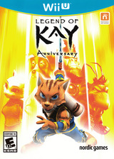 Legend of Kay Anniversary WiiU cover (BLKE6V)