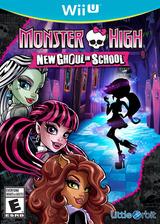 Monster High: New Ghoul in School WiiU cover (BMSEVZ)